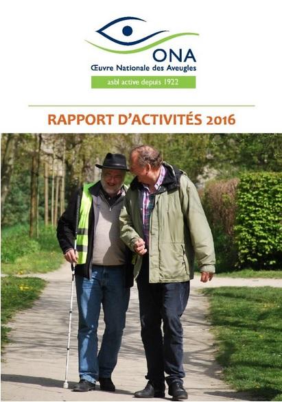 Rapport d'activités 2016 - PDF