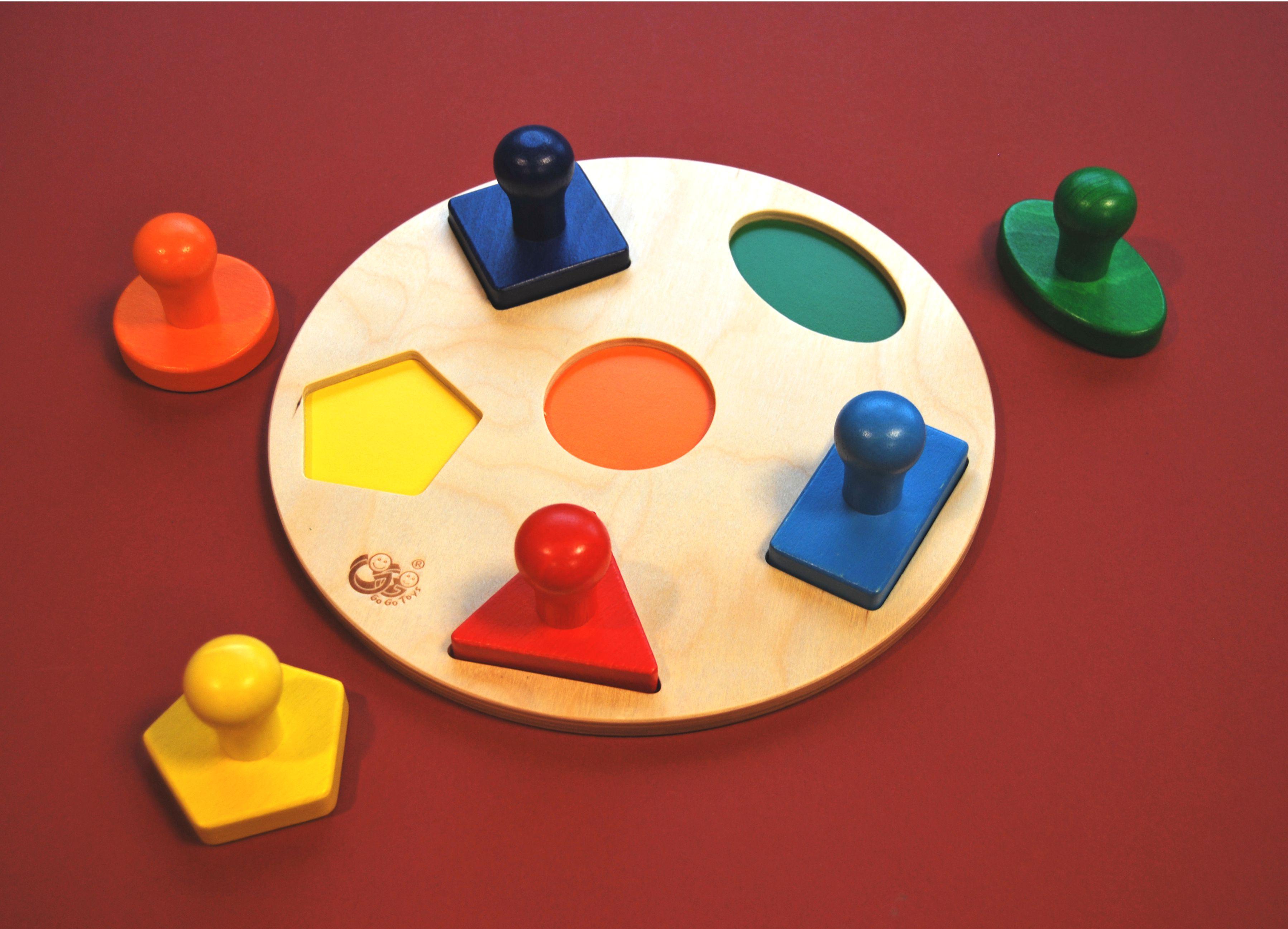 Image de présentation du jeu Plateau de tri de formes  - cliquez pour agrandir
